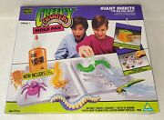 Toymax Vtg Creepy Crawlers Giant Insects Mold Pack 1992 With Goop Bottle