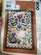 Vintage Ooe Made In Denmark Wall Picture D108 Nostra Zephyr Wool Yarn Rare New