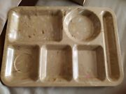 Vintage Texas Ware Melmac Melamine Lunch Cafeteria Tray Speckled Confetti