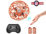 Ufo Mini Drone Hand Operated Levitation Led Rc Helicopter Flying Toys For Kids