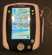 Leapfrog Leappad 2 Learning System. Pink With Purple Case Includes Aaa Batteries