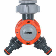 Pope Snap-on Ez Dial 2way Tap Ergonomic Design Comfortable Grip Watering Outlets
