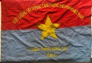 Flag Vc Vietcong Nva Nlf North Vn Army Flag To Win In 1966 Year Viet Cong A1