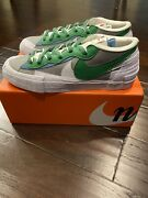 Nike Sacai Blazer Low Andlsquoclassic Greenandrsquo Size 12 Dd1877-001 | Confirmed Order