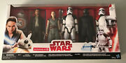 Target Stores Exclusive 6-pack Last Jedi 12 Figures New And Unopened Star Wars