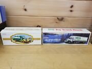2 Pcs First Hess Truck 1982 And Hess Toy Truck Bank 1987 In Original Boxes - 2