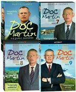 Doc Martin Complete Series Seasons 1-9 + Movies Dvd 24-discs Free Shipping