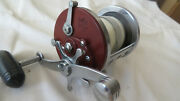 Fishing Reel Penn Jig-master 500 Star Drag Red Side Plates Made In U.s.a.