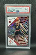 2018-19 Panini Revolution Trae Young Rookie Chinese New Year Psa 9