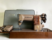 Good Condition Singer 191 Vintage Sewing Machine Foot Controller With Case