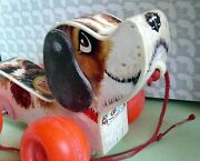 Fisher-price Little Snoopy Pull Toy - 1965 - Still Works