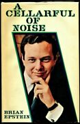 Beatles Manager Brian Epstein Signed A Cellar Full Of Noise Book Perry Cox Loa