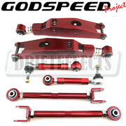 Godspeed Adjustable Rear Lower Control Arm+traction +toe For Lexus Sc430 2002-10