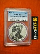 2006 P Reverse Proof Silver Eagle Pcgs Pr69 From 20th Anniversary Set Blue Label