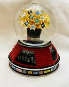 2012 Broadway Musical Snow Globe Plays Andldquogive My Regards To Broadwayandrdquo Works Well