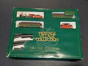 Bachman Dept56 Heritage Village Express Train Set - Ho Scale With Box
