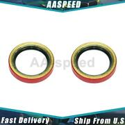2x Front Inner Wheel Seal Centric Parts For 1973-1976 Jensen Healey