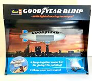 Vintage 1975 Store Display Revell Lighted Goodyear Blimp Model Electric Display