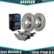 1x Front And Rear Centric Parts Disc Brake Pad And Rotor Kit For Volvo 850