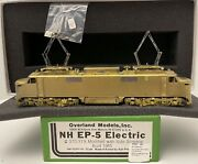 Brass H0 Overland Models Omi-5295 Nh Ep-5 Electric 370-379 Modified W/ Side Scr