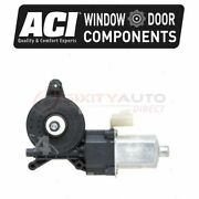 Aci Rear Left Power Window Motor For 2007-2013 Chevrolet Avalanche - Qf