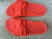 Adidas X Pharrell X Boost Slides 'active Red' Men's Size 4 12 Fy6140 Supreme