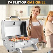 Bbq Party Outdoor Tabletop Stainless Steel Propane Gas Grill Portable Burner