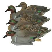 Avery/ghg Pro-grade Green-winged Teal, Decoy 6 Pack