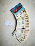 Full Set 70 Pcs 401-470 Kent Turbo Super Bubble Chewing Gum Wrappers Inserts.