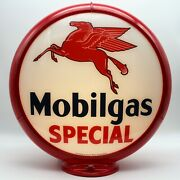 Mobilgas Special Gas Pump Globe - Ships Fully Assembled Ready For Your Pump