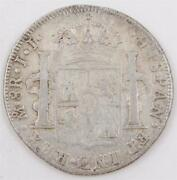 1816 Mexico 8 Reales Silver Coin Jj Km111 Circulated
