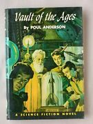 1st Ed Vault Of The Ages Poul Anderson Hardcover Winston Juvenile Book