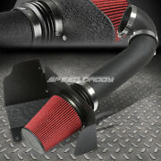 For Gmt900 Chevy/gmc V8 Wrinkle Finish Aluminum 4cold Air Intake+heat Shield