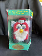 Furby Red And White Special Limited Edition Christmas Special Edition 1999