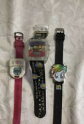 3 Fun Vintage Watches My Little Pony,simpsons,potty Watch