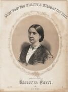 Come When You Will I've A Welcome For Thee, 1860 Antique Sheet Music 2nd We Have