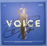 Shinee Onew [voice] Autographed Signed Album