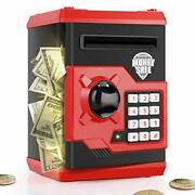 Playsheek Piggy Bank For Girls Boys Large Electronic Money Coin Banks With Pa...