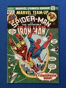 Marvel Team-up Issue 9 / Spider-man And Iron Man / Vf 1973 Ross Andru