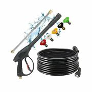 Selki Pressure Washer Gun With Extension Wand And Hose Pressure Washer Gun W...