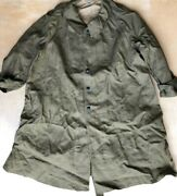 Ww 2 Wwii Military Motorcycle Trench Coat Duster - France - J Pauwels