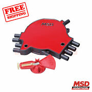 Msd Distributor Cap And Rotor Kit For Chevrolet Caprice 1995-1996