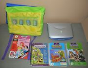 Leap Pad Learning System With Bag And 4 Books And Cartridges - Leapfrog
