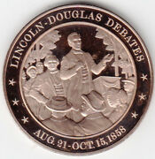 1858 Franklin Mint, History Of The United States - Bronze Proof Medal