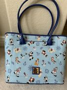 Nwt Dooney And Bourke Disney Cruise Line Mickey And Friends Tote