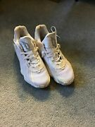 Dame 7 Size 9.5 All White Good Condition Only Worn Once