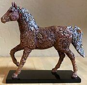 Trail Of Painted Ponies Carved In History 1e/0,176 New In Box, Low Number