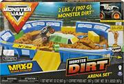 Monster Jam, Monster Dirt Arena 24-inch Playset With 2lbs Of Monster Dirt And Ex