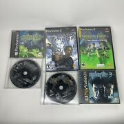 Syphon Filter Ps1 Lot 1 2 And 3 Dark Mirror The Omega Strain Ps2 Tested Working