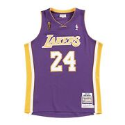 Los Angeles Lakers Kobe Bryant 24 Mitchell Ness Purple 2008-09 Authentic Jersey